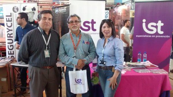 IST participa en feria de Seguridad y Salud Ocupacional en Los Andes