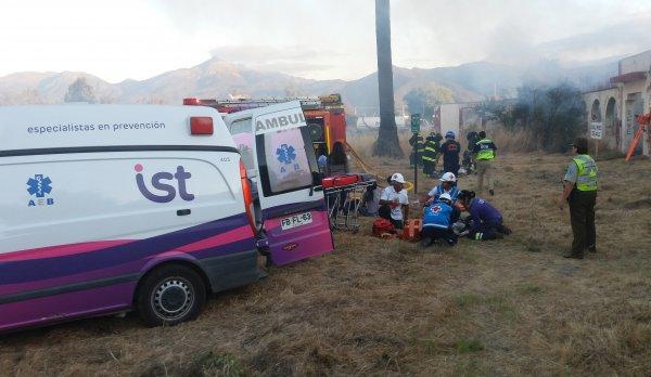 IST participa en simulacro de emergencia en Quillota