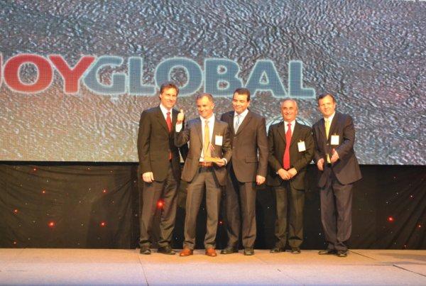 Joy Global recibe premio de seguridad en aniversario de Aprimin