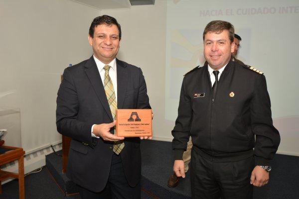 Asmar Talcahuano celebró Semana de la Seguridad junto a IST Zonal Sur