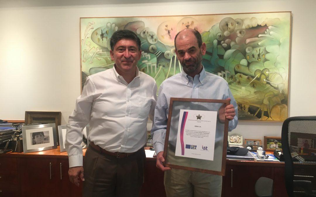 EBSA aprueba primera etapa del proyecto PASSO de IST