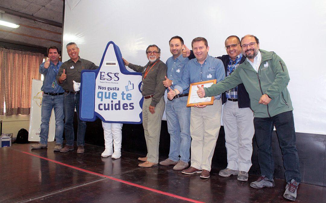 Compass Catering lanza campaña preventiva en División Andina de Codelco