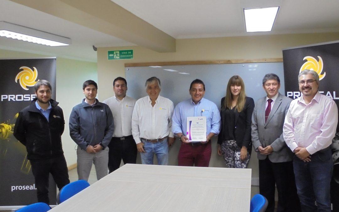 Proseal firma protocolo de Programa de Administración en Seguridad y Salud Ocupacional