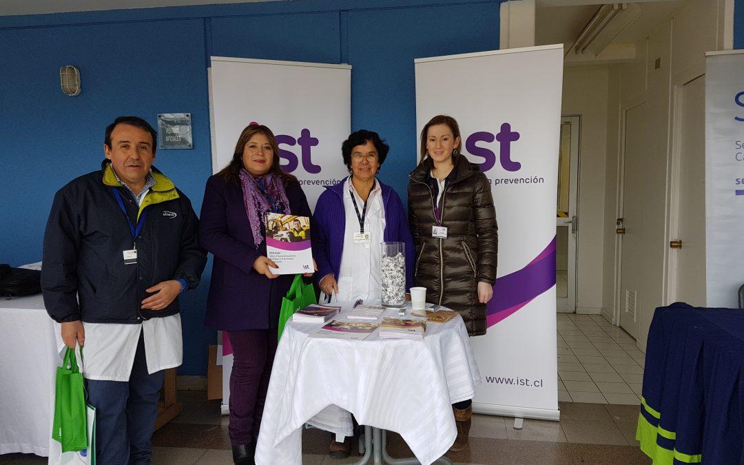 IST participó en la Feria de la Salud de Gendarmería