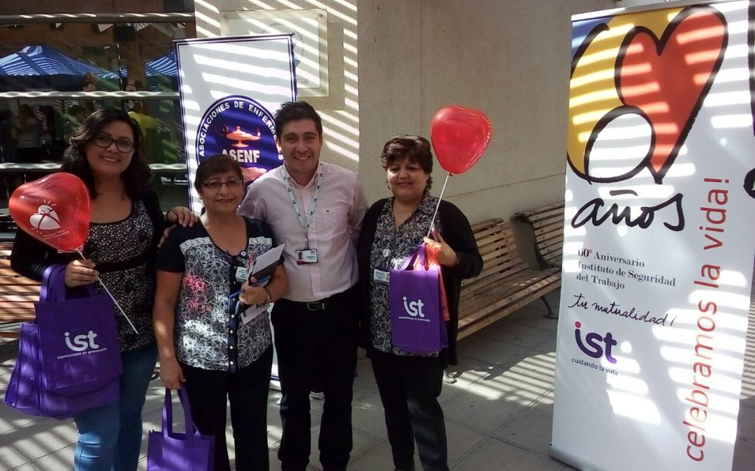 IST participa en Semana de Enfermería en Servicio de Salud Arica