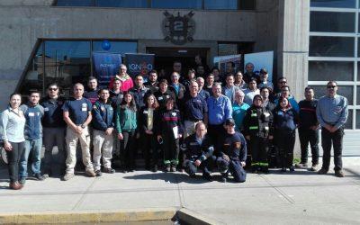IST apoya a Bomberos de Quintero en seminario de investigación de incendios