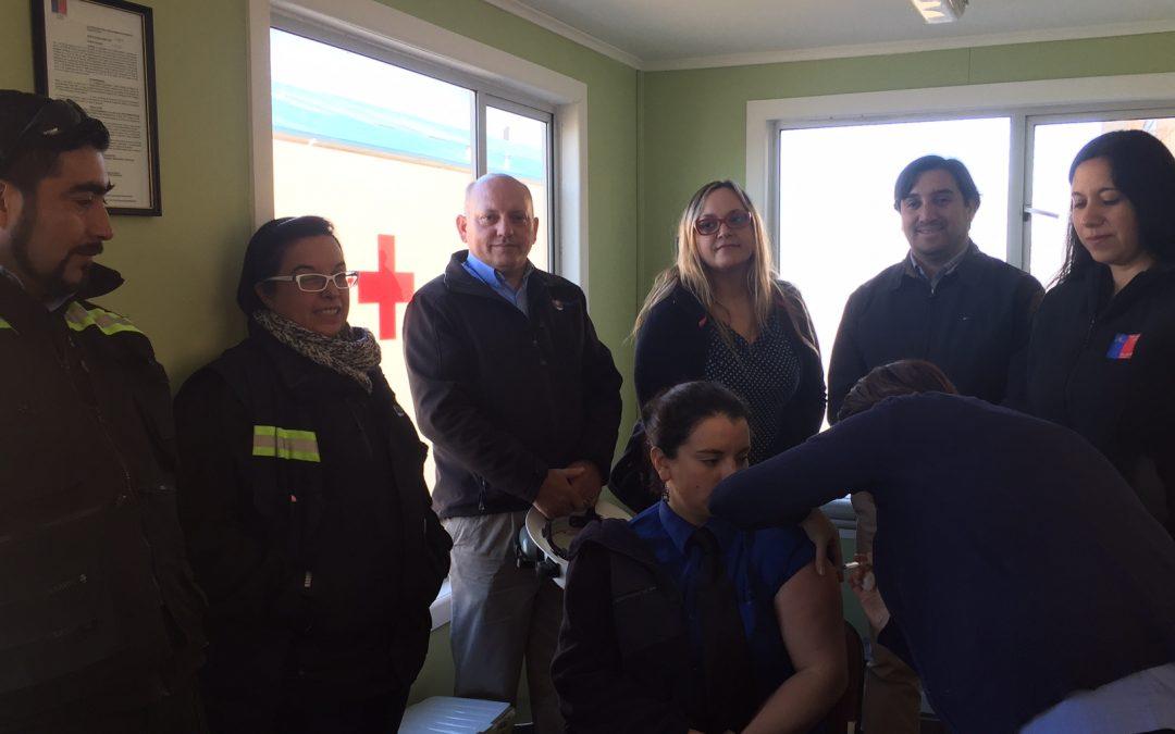 IST habilita nuevo punto de vacunación contra la influenza en Punta Arenas