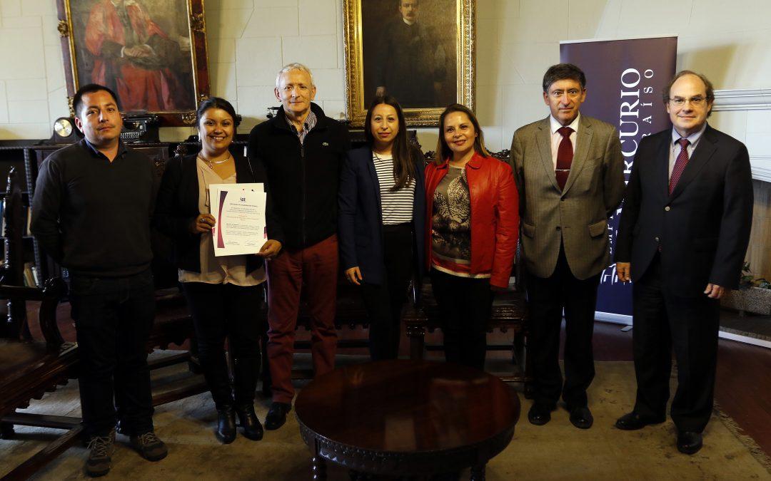 El Mercurio de Valparaíso firma protocolo de Programa de Administración en Seguridad y Salud Ocupacional