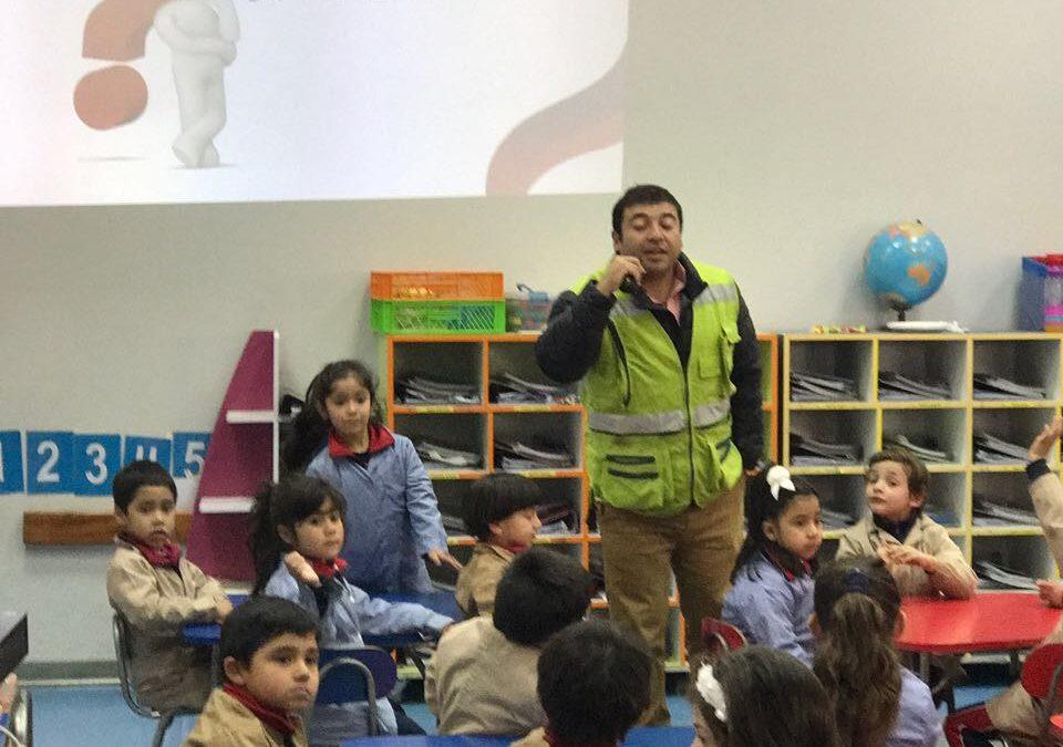 Semana de la Seguridad en el Colegio San Antonio de Villa Alemana