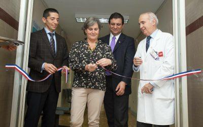Inauguración de servicio de scanner en Hospital IST del Bío Bío