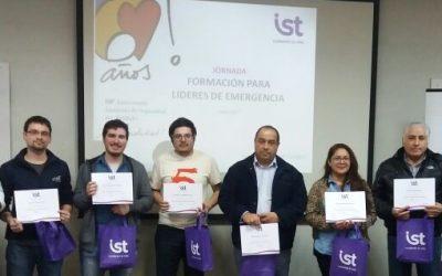 """IST Valparaíso desarrolló jornada  """"Formación para líderes de emergencia"""""""
