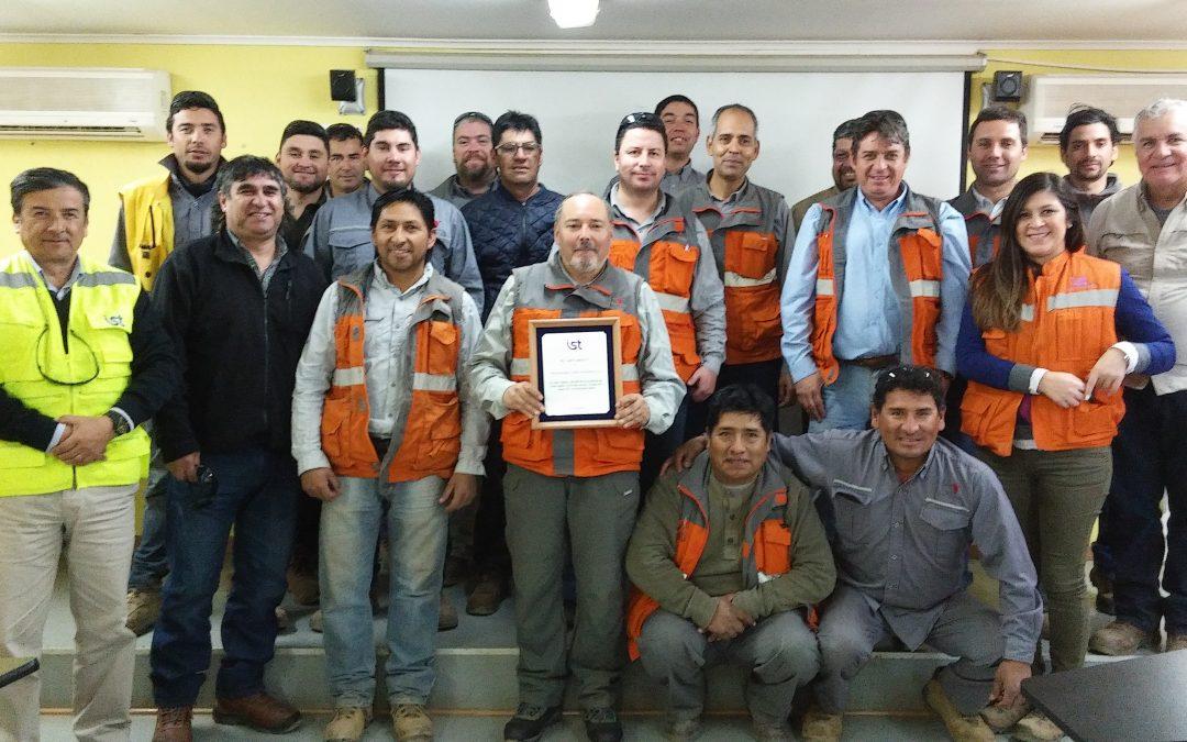 ICV celebró 1 millón de horas sin accidentes en Faena Manto Verde