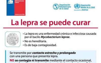 La lepra no se contagia con contacto ocasional