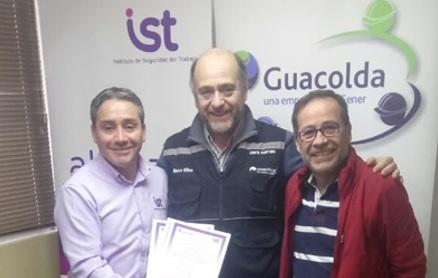 Guacolda Energía firmó protocolo de cumplimiento SAC