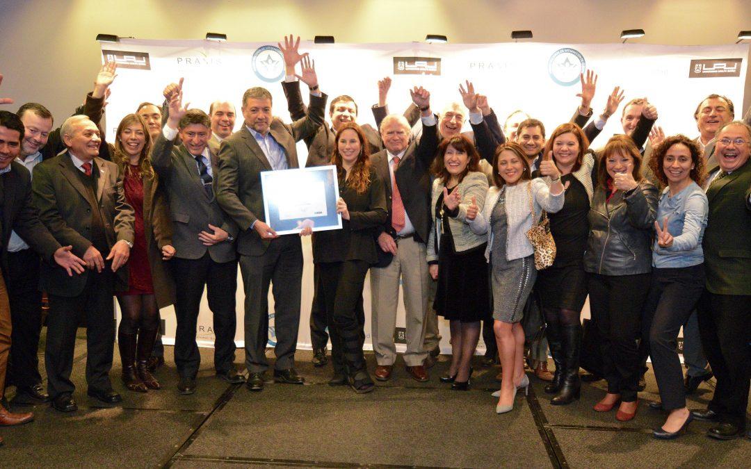 1° lugar sector mutuales: Premio Nacional de Satisfacción de Clientes ProCalidad 2017 *