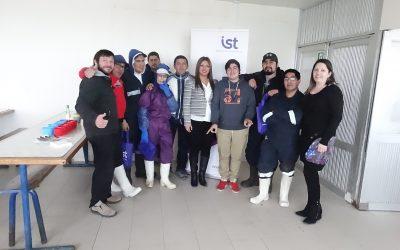 IST reconoce a trabajadores destacados de Pesquera Cidepes