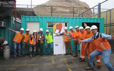 IST reconoce a Ultraport Arica por su compromiso con el cuidado de la vida