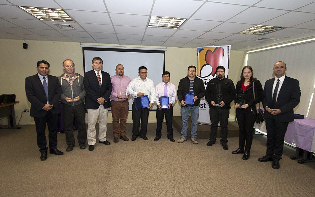 IST Iquique distingue a empresas adherentes destacadas en prevención