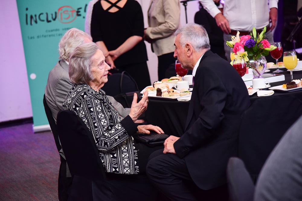 Carla Cordua con Gustavo González Doorman