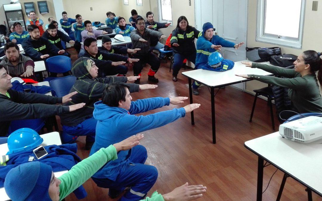 IST desarrolla ejercicios compensatorios en Terminal Las Golondrinas
