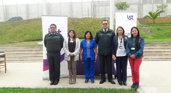 IST Coquimbo participa en feria saludable de Gendarmería
