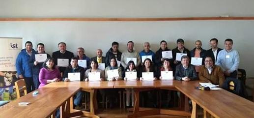 IST certificó a operadores de caldera en Municipio de Valdivia