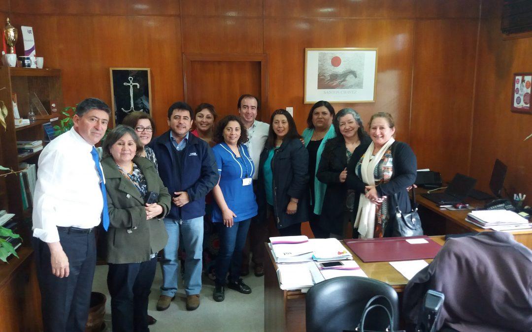 ISTse reuniócon gremios de la Municipalidad de Puerto Montt