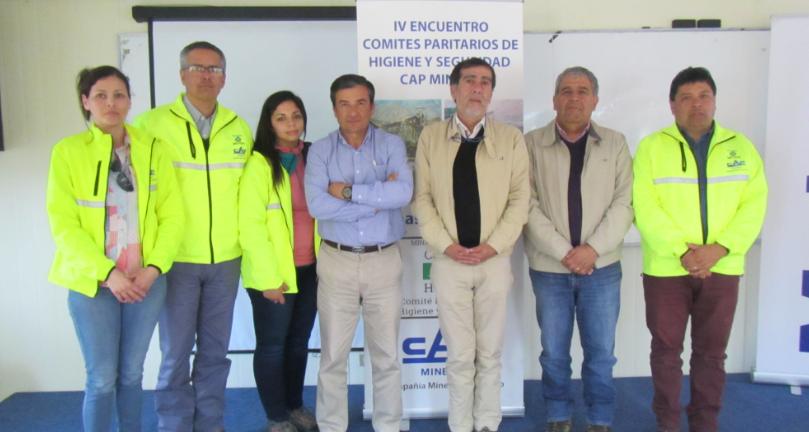 IST Coquimbo participa en IV Encuentro de CPHS de CAP Minería