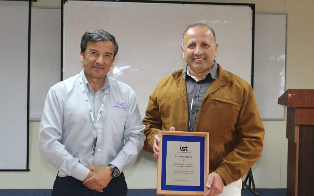 IST Coquimbo reconoce a Sociedad de Servicios de Seguridad Privada
