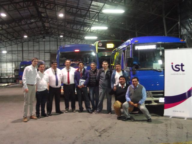 Campaña manejo a la defensiva para conductores de Buses Thaebus