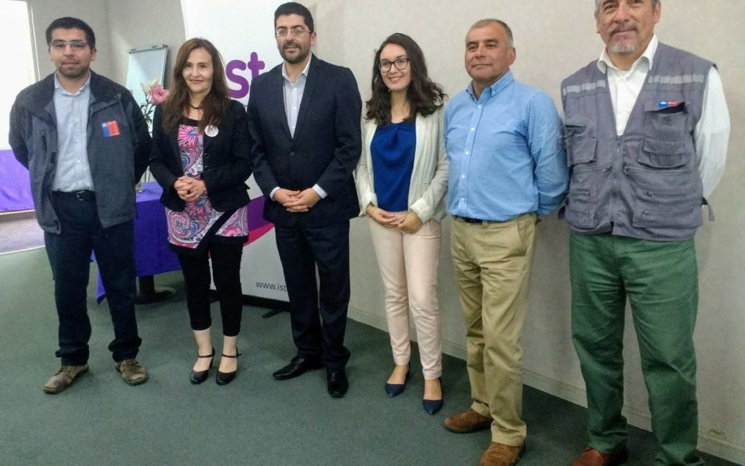 IST y Seremi del Trabajo realizan seminario para CPHS de San Antonio