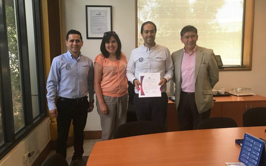 PROINDAR firma protocolo del proyecto PASSO