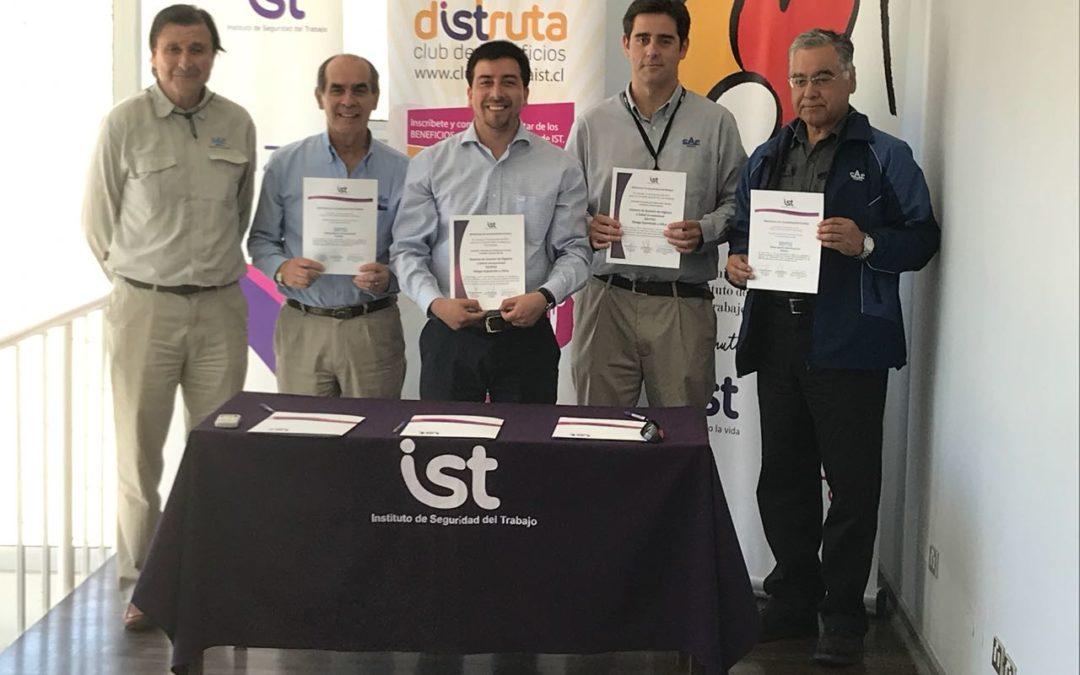 CAP Minería firma protocolos Prexor y Planesi para faenas en Copiapó