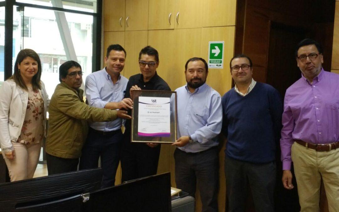 Comité Paritario de Muellaje Ultraport Valparaíso logra acreditación SAC