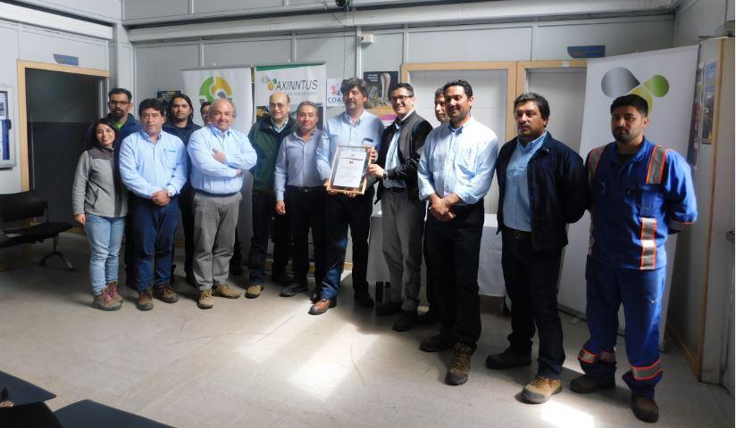 Comité Paritario de Axinntus Huasco recibe certificación SAC