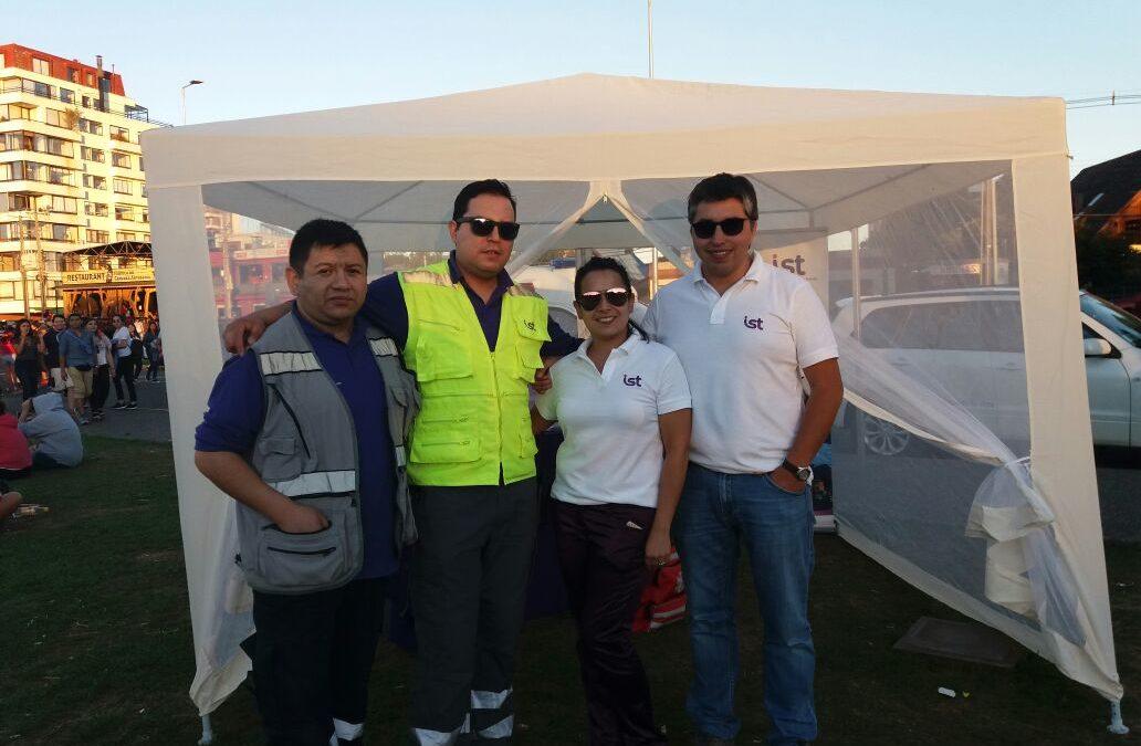 IST participa en los 100 años de la noche Valdiviana