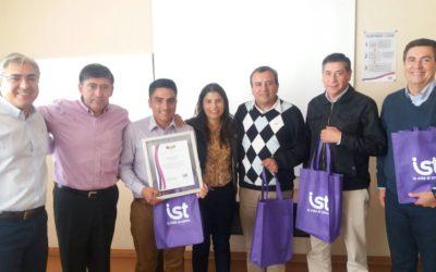 "IST certifica a AGMAG por cumplir con Tercer Passo ""En Acción"""