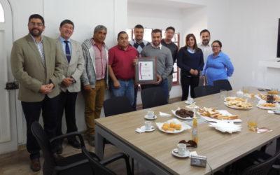 IST entrega certificado primer PASSO a Constructora Maibac