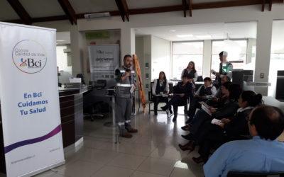 IST participa en simulacro de Bci y Banco Nova Coyhaique
