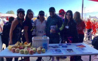 IST apoyó cicletada organizada por Buses JM en Los Andes