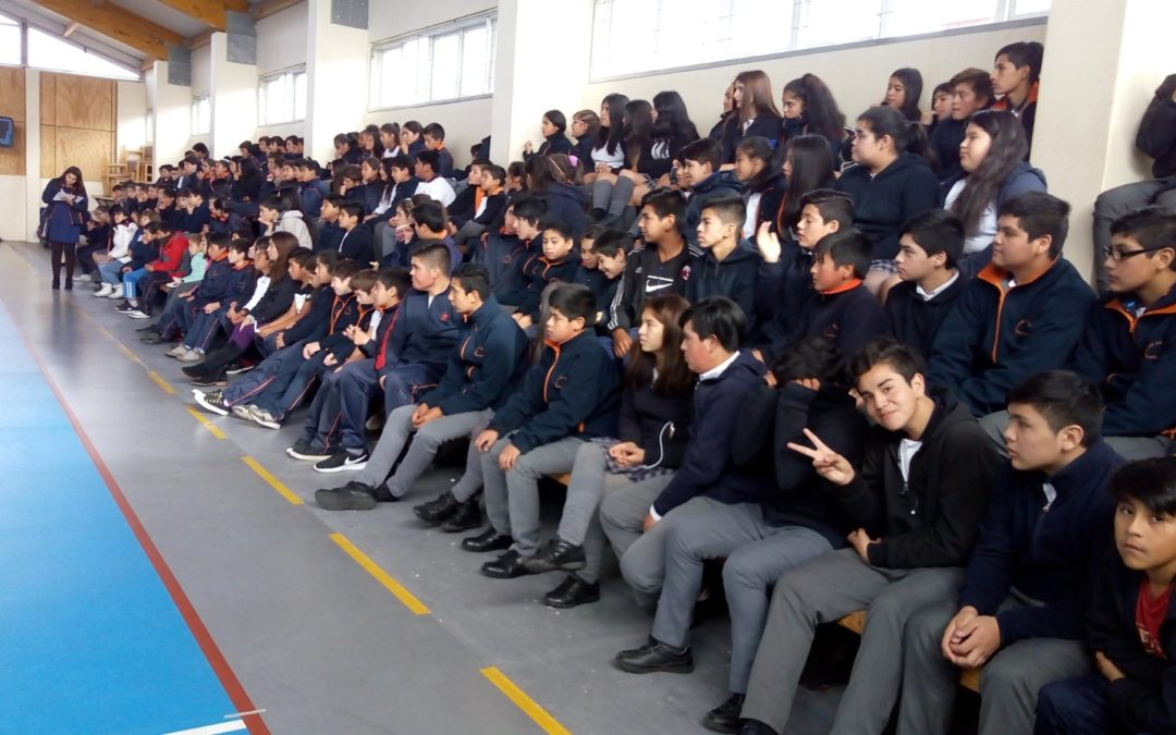 IST participa en semana de la seguridad escolar del DAEM de Puerto Montt