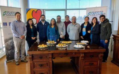 IST y Puerto Columbo San Antonio firman protocolo SAC 54