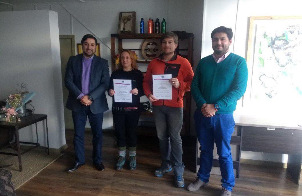 IST y empresa Ecocamp firman protocolo SAC 54