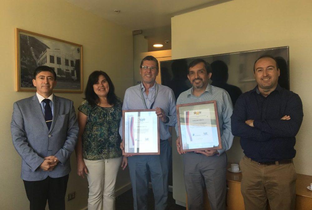 IST entrega reconocimientos a Pacific Hydro Chile