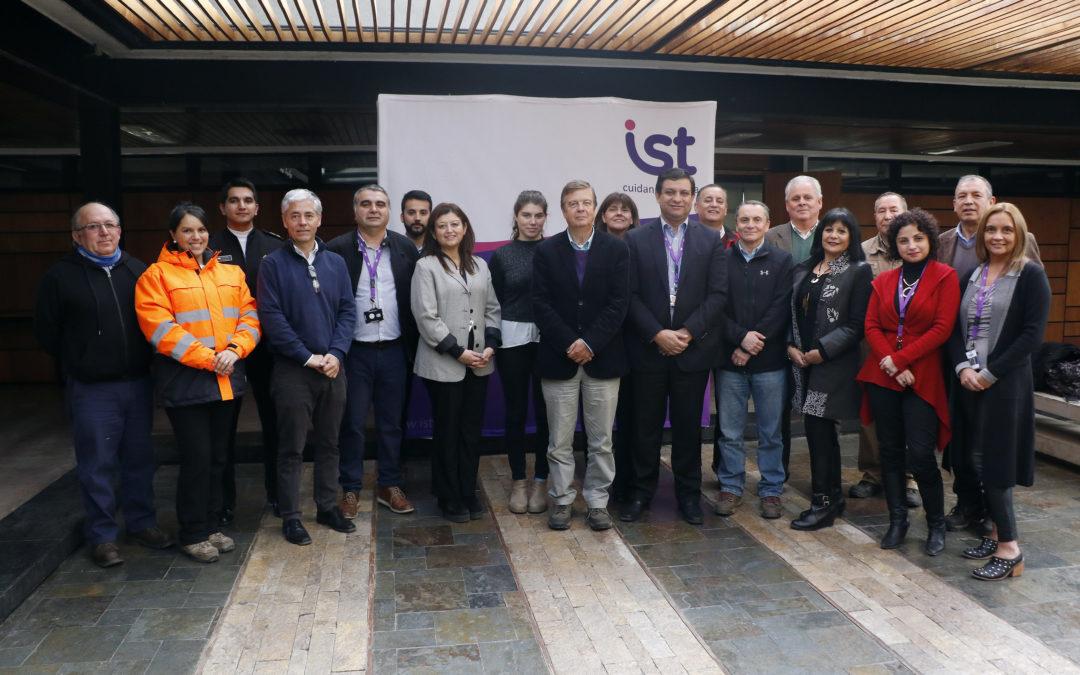 Empresas adherentes participan en mesas regionales de prevención