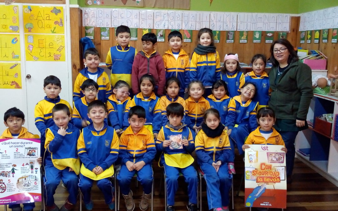 Semana de la seguridad escolar en Colegio Purísimo Corazón de María