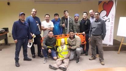 IST capacita a trabajadores de Report en primeros auxilios