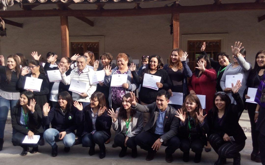 IST certificó a mujeres de Calle Larga en manipulación de alimentos
