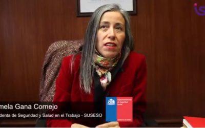 Pamela Gana, Intendenta de Seguridad y Salud en el Trabajo de la SUSESO