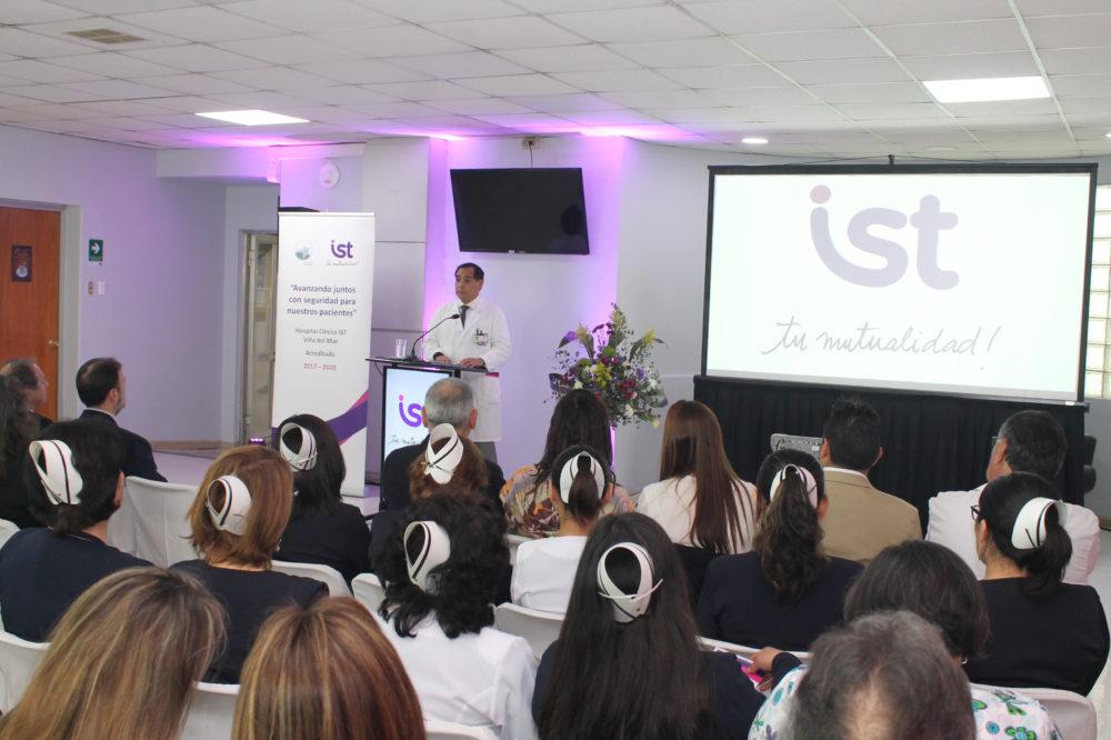 Dr. Nicovani, Director Médico Hospital IST Viña